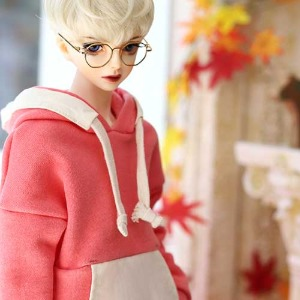 SD13BOY Pigment Coloration Hooded -Pink