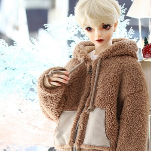 SD17 Fur Zipup - Brown