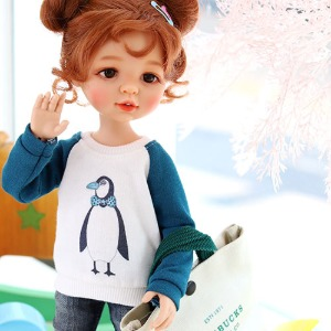 Paola Reina Gentleman Penguins MTM - Blue