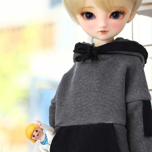 MSD & MDD Pigment Coloration Hooded -Black