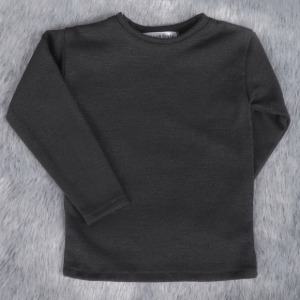 [SDB]Basic long sleeve T-shirt(Black)
