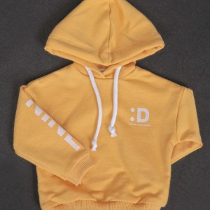 [SDB]Color over hood T-shirt(Yellow)