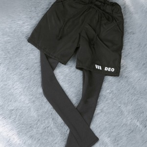 [SDB]Leggings shorts(Black)